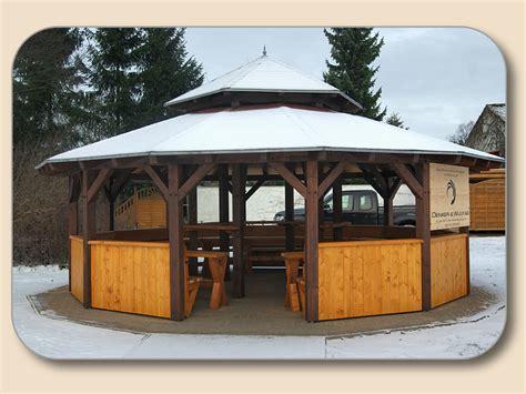 pavillon pavillion gartenpavillon holz selbstbau bvrao