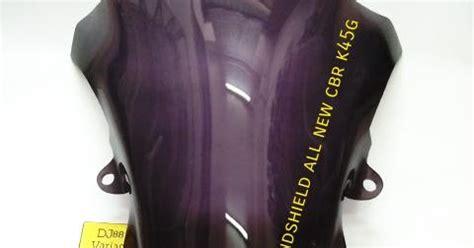 Windshield Visor Cbr 150 K45g Facelift dj88 variasi toko aksesories terlengkap dan terpercaya se