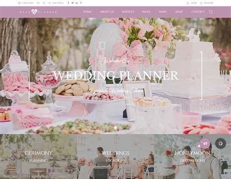 8  Best Wedding Planner WordPress Themes for 2018   Siteturner