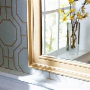 bathroom mirror moulding home dzine bathrooms how to frame a bathroom mirror