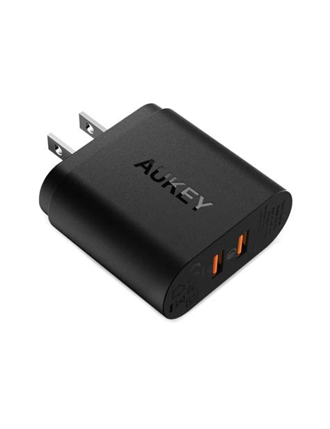 Aukey Oc 3 0 Pa T16 Wall Charger aukey dual usb wall charger pa t16