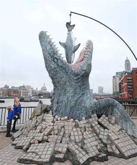 river thames jurassic world jurassic creature bursts from thames frank marhsall