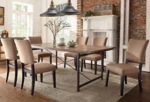 industrial style dining room tables marceladick