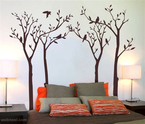 30 beautiful wall ideas and diy wall paintings for your inspiration