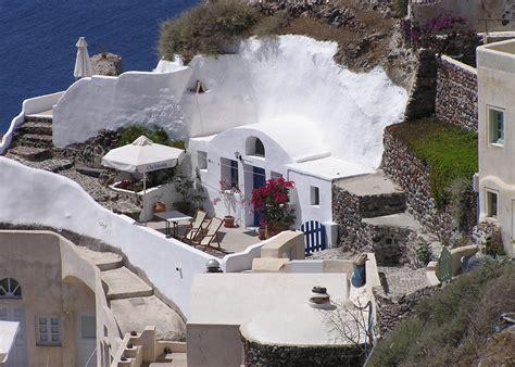 Small Architects House Santorini File Cliff Home Oia Santorini Greece Jpg