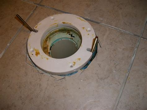 How To Replace Closet Flange by Toilet Flange Installation Images