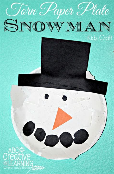 snowman paper plate craft 51 best images about preschool snowman crafts on