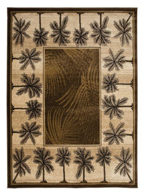 palm tree area rugs cheap brown bahamas palm tree rug 2321 bahamas rugs