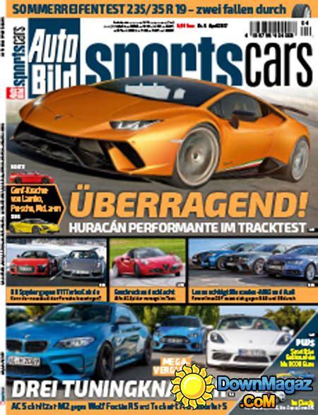 Auto Bild Sportscars Sonderheft 1 2016 by Auto Bild Sportscars 04 2017 187 Pdf Magazines
