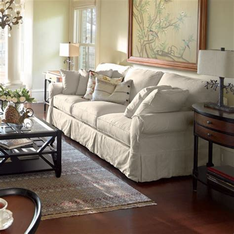 arhaus baldwin sofa arhaus baldwin slipcovered sleeper sofa wish pinterest