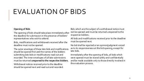 Tender Evaluation Recommendation Letter The Basics Of Tendering Bidding