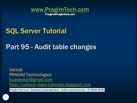 Sql Server Audit Table Changes Sql Server Net And C Tutorial Audit Table Changes In Sql Server