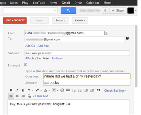 send secret email how to send encrypted emails in gmail hongkiat