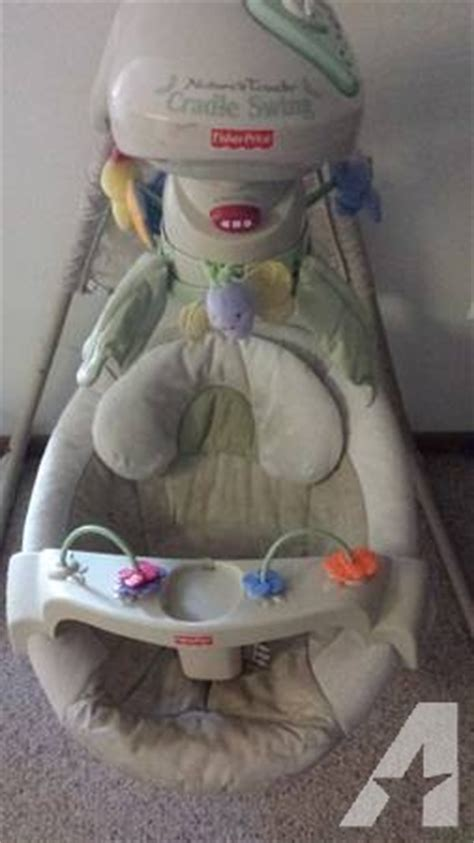 fisher price nature s touch cradle swing nature s touch cradle swing by fisher price for sale in