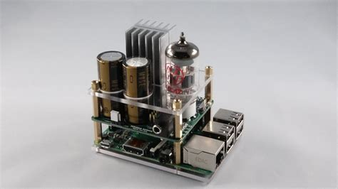 Home Design Software Amp raspberry pi gets its audio tube amp hat on