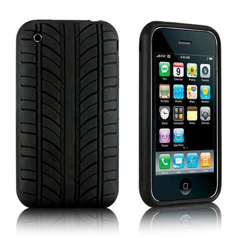 Casing Hp Iphone 3gs tyre design iphone 3g 3gs soft black mycase