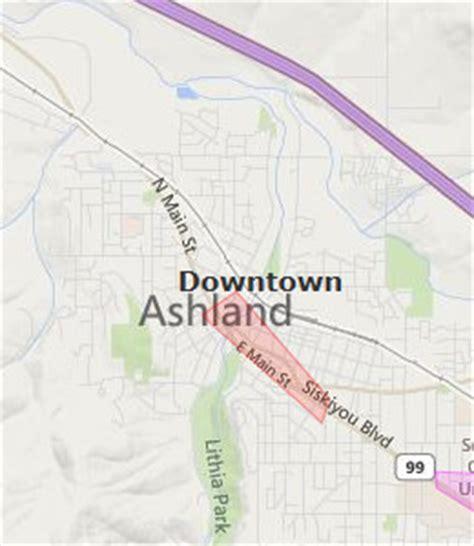 where is ashland oregon on a map downtown ashland hotels ashland oregon or