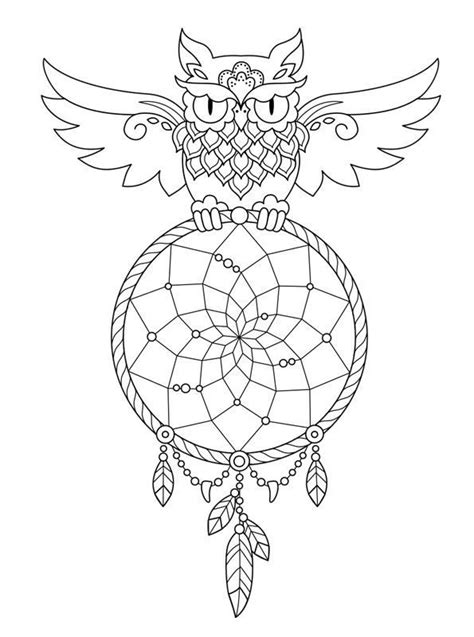 coloring pages of dream catchers 152 best dreamcatcher coloring pages for adults images on