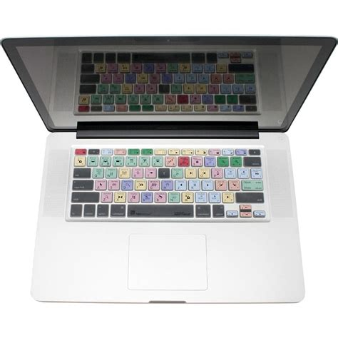 final cut pro in macbook air logickeyboard logicskin apple final cut pro ls fcp mbuc us b h