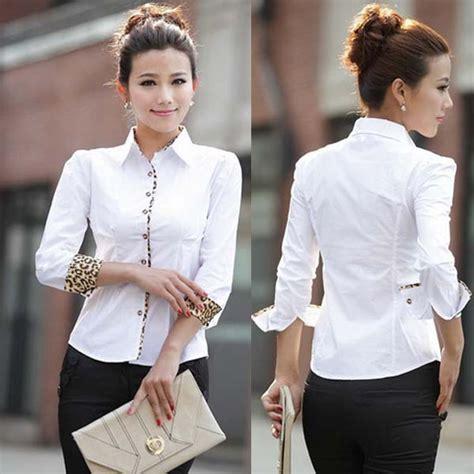 imagenes secretarias atrevidas faldas de moda 187 las blusas m 225 s elegantes para oficina 5