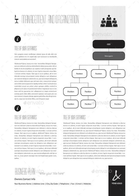 53 pages full business plan template a4 portrait by