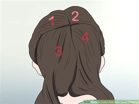 how to dye hair with food coloring the best ways to color hair with food coloring wikihow
