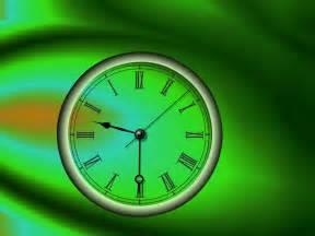 desk top clock clock screensaver turn time back