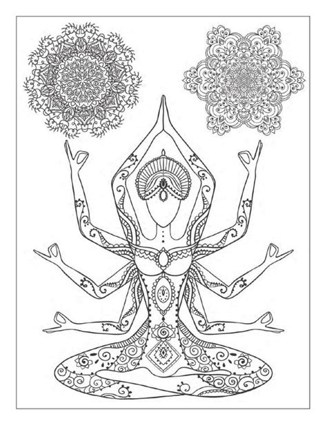 mandala meditation coloring book ideas coloring books meditation and poses on