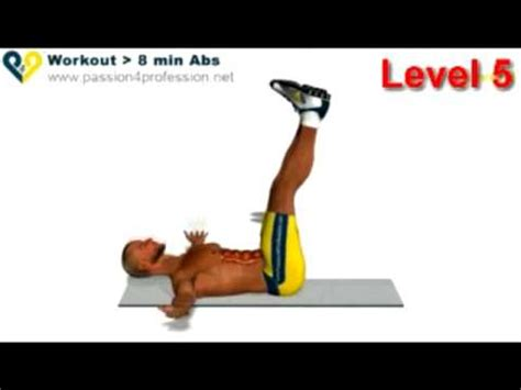 abs workout how to six pack level 5