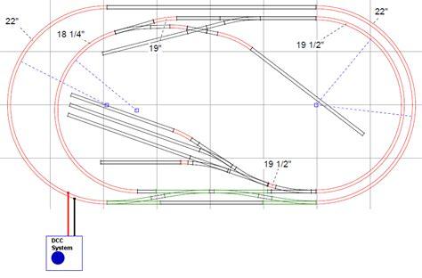 model railroad dcc wiring  train model