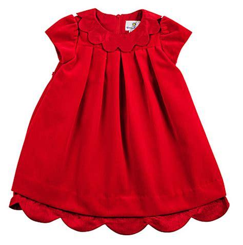 eiseman infant baby girls christmas red velvet dress with