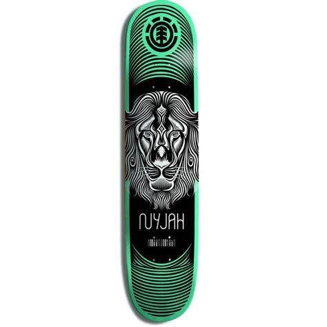 skate decks element nyjah imprint skateboard deck evo
