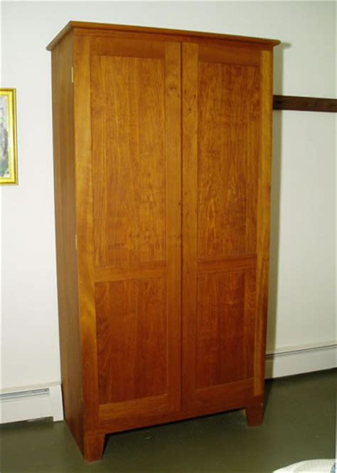cherry wardrobe closet furniture