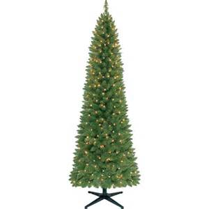 holiday time pre lit 7 brinkley pine pencil artificial