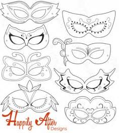 Free Printable Masquerade Mask Templates by Masquerade Mask Template Coloring Pages