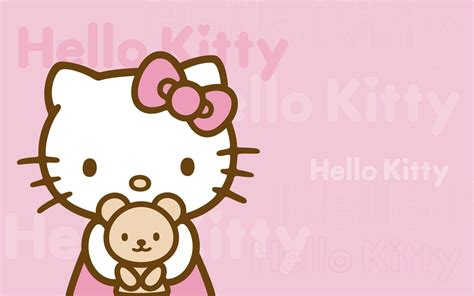 hello kitty wall wallpaper hello kitty desktop backgrounds wallpapers wallpaper cave