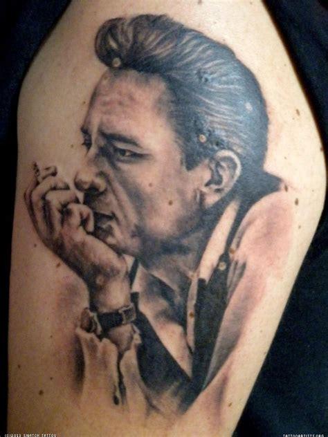 johnny cash portrait tattoo artists org