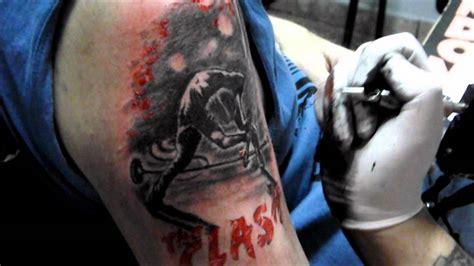 bg tattoo v london london calling tattoo the clash paul simonon photo