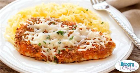 veal parmesan recipe girl hg s buff chick parm with spaghetti squash recept