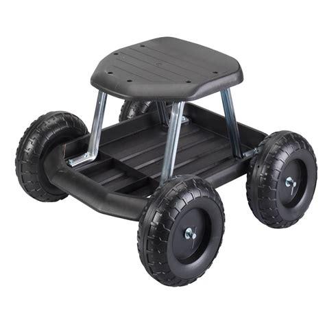 garden scooter seat garden scooter garden seat with wheels garden seat