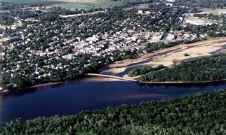 file portage wisconsin aerial view jpg
