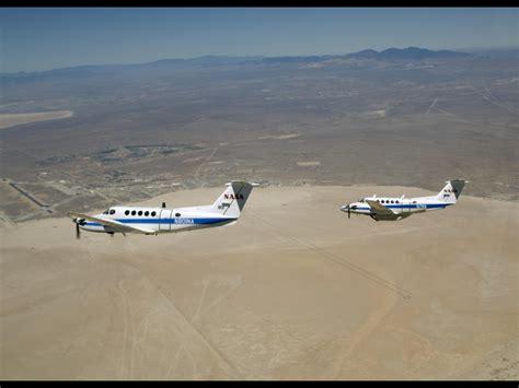 image gallery nasa chrysanthemum air b200 king air in formation over edwards air force base nasa