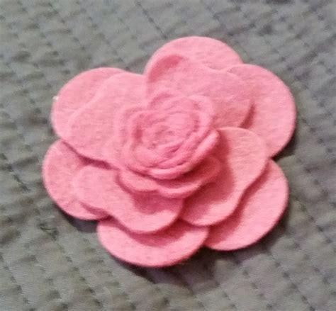 paper camellia flower tutorial tutorial how to create felt flowers using mft s hybrid
