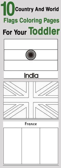 flag coloring pages with key flags of the world coloring pages with color key