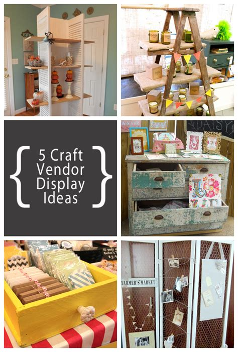 List Of Handmade Products - 5 great craft vendor display ideas three souls