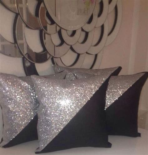 silver cusions 18 best images about glitter cushions on pinterest