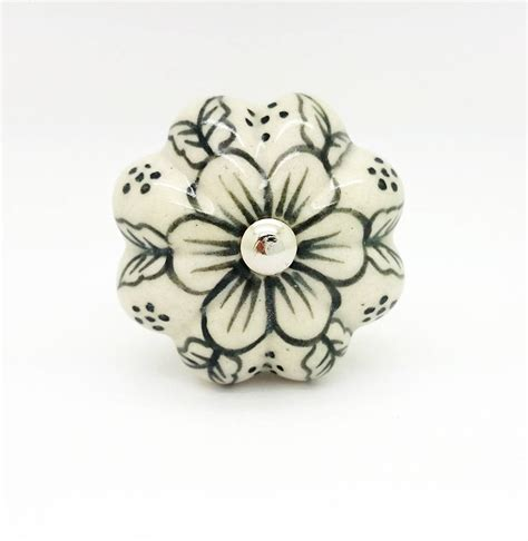 Ceramic Flower Knobs by Paint Ceramic Flower Knob Cupboard Kitchen Handle By