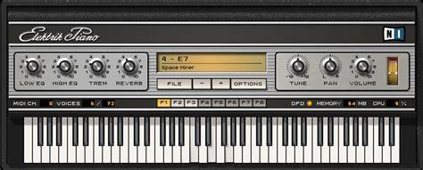 Keyboard Elektrik kvr elektrik piano by instruments piano vst plugin audio units plugin directx