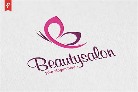 beauty salon logo logo templates on creative market