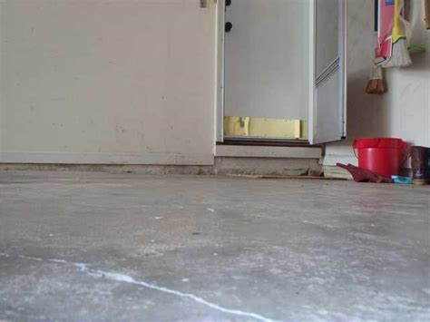Concrete Garage Floor Sinking by Lowcountry Basement Systems Photo Album Sinking Concrete
